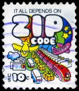 My zip code