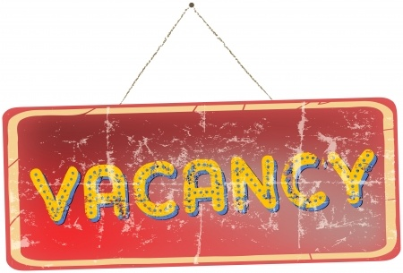 old vacancy sign