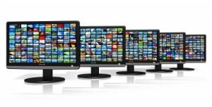 multiple CRT screens